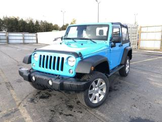 Used 2018 Jeep Wrangler JK SPORT 4WD for sale in Cayuga, ON