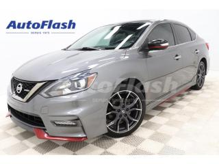 Used 2017 Nissan Sentra NISMO* M6* CAMERA* GPS* CRUISE* A/C* for sale in St-Hubert, QC