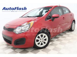 Used 2014 Kia Rio LX-PLUS* HATCHBACK* A/C* CRUISE* BLUETOOTH for sale in St-Hubert, QC