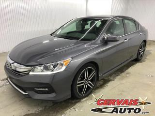 Used 2017 Honda Accord Sport Cuir/Tissus Toit Ouvrant Mags for sale in Shawinigan, QC