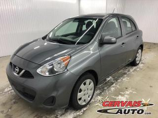 Used 2018 Nissan Micra SV A/C BLUETOOTH CAMÉRA for sale in Shawinigan, QC