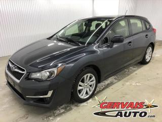 Used 2016 Subaru Impreza Touring AWD A/C MAGS Hatchback *Bas Kilométrage* for sale in Shawinigan, QC