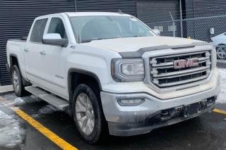 Used 2017 GMC Sierra 1500 SLT CREW 4X4 CUIR TOIT GPS 20 POUCES for sale in St-Hubert, QC