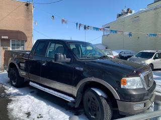 Used 2005 Ford F-150 Super cabine 145 po. Lariat 4 RM for sale in Pointe-Aux-Trembles, QC