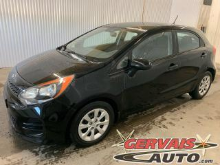 Used 2016 Kia Rio 5 LX A/C Bluetooth for sale in Trois-Rivières, QC