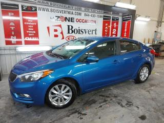Used 2015 Kia Forte FORTE LX ATOMATIQUE A/C DÉMARREUR DISTANCE ! for sale in Blainville, QC