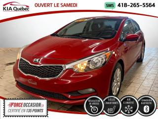 Used 2016 Kia Forte LX+ * SIEGES CHAUFFANT * BLUETOOTH * CRU for sale in Québec, QC