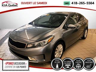 Used 2017 Kia Forte EX LUXE * CUIR * TOIT * ANGLE MORT* for sale in Québec, QC