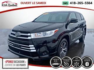 Used 2019 Toyota Highlander LE* V6* AWD* TOYOTA SAFETY SENCE* for sale in Québec, QC