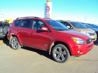 Used 2008 Toyota RAV4 Sport for sale in North Battleford, SK