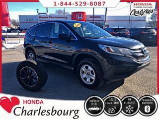 Used 2016 Honda CR-V LX 2RM **BANCS CHAUFFANT** for sale in Charlesbourg, QC