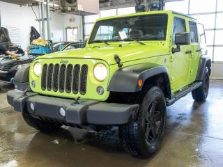 Used 2017 Jeep Wrangler SPORT 4X4 AUTOMATIQUE CLIMATISEUR *BLUETOOTH* for sale in Mirabel, QC