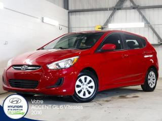 Used 2016 Hyundai Accent GL 6 Vitesses for sale in Val-David, QC