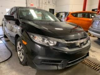 Used 2016 Honda Civic LX A/C CAMERA DE RECUL for sale in Île-Perrot, QC
