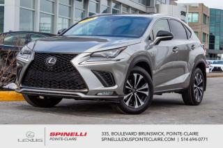 Used 2018 Lexus NX **NX 300 F SPORT 1 APPLE CAR PLAY**** *APPLE CAR PLAY*SYSTEME LSS+*CUIR ROUGE*CAMERA DE RECUL*VOLANT CHAUFFANT*BANCS CHAUFFANTS ET VENTILÉ for sale in Montréal, QC