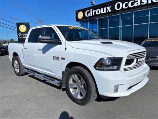 Used 2018 RAM 1500 SPORT , CREW , DIFF 3.92 , SYSTEME ALPIN for sale in Ste-Agathe-des-Monts, QC