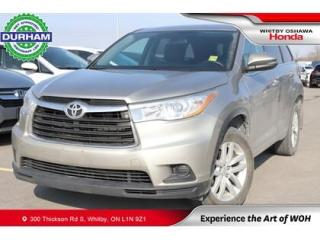 Used 2014 Toyota Highlander AWD 4dr LE for sale in Whitby, ON