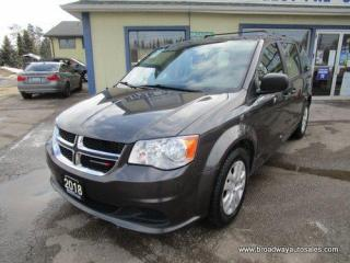 Used 2018 Dodge Grand Caravan FAMILY MOVING SE EDITION 7 PASSENGER 3.6L - V6.. ECON-BOOST-PACKAGE.. REAR-STOW-N-GO SEATING.. BLUETOOTH SYSTEM.. KEYLESS ENTRY.. for sale in Bradford, ON