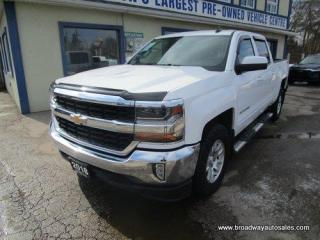 Used 2018 Chevrolet Silverado 1500 GREAT VALUE LT EDITION 6 PASSENGER 5.3L - V8.. 4X4.. CREW-CAB.. SHORTY.. TRAILER BRAKE.. BACK-UP CAMERA.. BLUETOOTH SYSTEM.. KEYLESS ENTRY.. for sale in Bradford, ON
