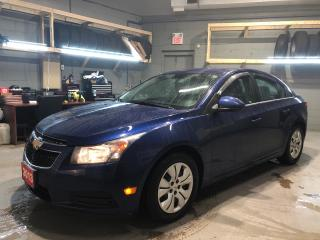 Used 2013 Chevrolet Cruze LT * 1.4 Turbo * 6 Speed Auto * Remote Start * Cruise Control * Steering Wheel Controls * Hands Free Calling * AM/FM/SXM/CD/Aux/USB * Keyless Entry * for sale in Cambridge, ON