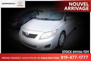 Used 2010 Toyota Corolla AUTOMATIQUE| CLIMATISATION for sale in Drummondville, QC