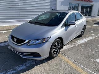Used 2015 Honda Civic EX 4 portes, boîte automatique for sale in Rivière-Du-Loup, QC