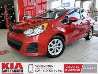 Used 2016 Kia Rio 5 LX ** GR ÉLECTRIQUE for sale in St-Hyacinthe, QC