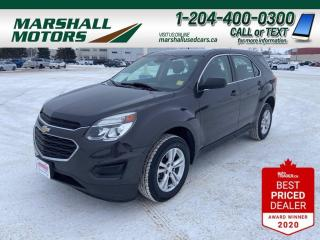 Used 2016 Chevrolet Equinox * Bluetooth* * Back-up Camera* * Onstar * for sale in Brandon, MB