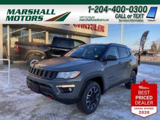 Used 2020 Jeep Compass Trailhawk for sale in Brandon, MB
