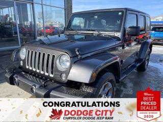 Used 2018 Jeep Wrangler JK Unlimited Sahara | Unlimited | 4X4 for sale in Saskatoon, SK