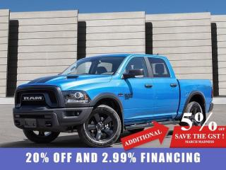 New 2021 RAM 1500 Classic Warlock 4x4 Crew Cab 5'7  Box for sale in Winnipeg, MB
