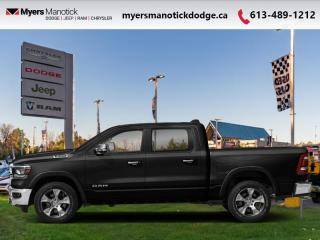 New 2021 RAM 1500 Laramie  -  Leather Seats - $462 B/W for sale in Ottawa, ON