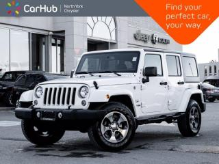 Used 2018 Jeep Wrangler JK Unlimited Sahara for sale in Thornhill, ON