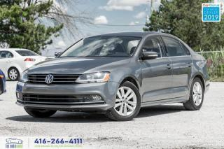 Used 2017 Volkswagen Jetta Wolfsburg Edition|Sunroof|Aluminium wheels for sale in Bolton, ON
