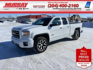 Used 2015 GMC Sierra 1500 *Park Assist** Bluetooth**Onstar**Remote Start* for sale in Brandon, MB