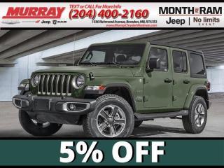 New 2021 Jeep Wrangler for sale in Brandon, MB