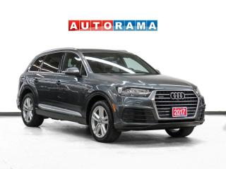 Used 2017 Audi Q7 3.0T Technik S  Quattro Nav Leather PanoRoof Bcam for sale in Toronto, ON