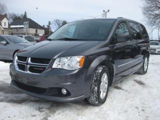 Used 2017 Dodge Grand Caravan Crew Stow N Go 7 pass AC Cruise PL PM PW for sale in Ottawa, ON