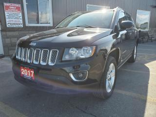 Used 2017 Jeep Compass High Altitude Edition-4x4-SUNROOF-LEATHER for sale in Tilbury, ON