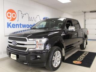Used 2019 Ford F-150 Platinum | 4x4 | Heated/Cooled Leather | Sunroof | Max Trailer Tow for sale in Edmonton, AB