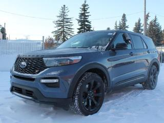 New 2021 Ford Explorer ST | Street Pack | Moonroof | Tech Pkg | Large Screen | Heated/Cooled Seats for sale in Edmonton, AB