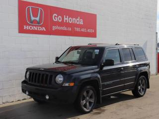 Used 2015 Jeep Patriot HIGH ALTITUDE LEATHER for sale in Edmonton, AB