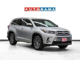 Used 2017 Toyota Highlander Hybrid XLE AWD Nav Leather Sunroof Backup Cam for sale in Toronto, ON
