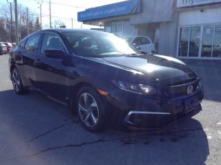 Used 2019 Honda Civic LX HEATED SEATS, BACKUP CAM, MYCAR POWERBUY!! for sale in Kingston, ON