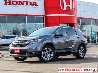 Used 2019 Honda CR-V EX--1 Owner--Heated Seats--Remote Starter--Backup Camera for sale in Milton, ON