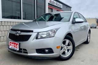 Used 2014 Chevrolet Cruze 2LT for sale in Chatham, ON