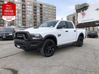 New 2021 RAM 1500 Classic SLT Remote Start & Security,3.6L Pentastar(TM) VVT V6 engine, Sport Performance Hood, Heated Seats & Ste for sale in North York, ON