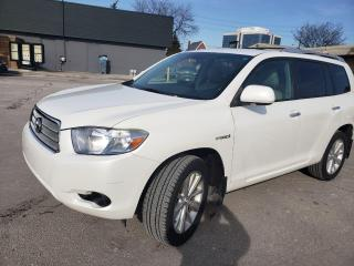 Used 2010 Toyota Highlander Hybrid for sale in North York, ON
