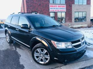 Used 2009 Dodge Journey R/T -B.UP CAM, NAV, B.T., POWER LEATHER SEATS for sale in Rexdale, ON