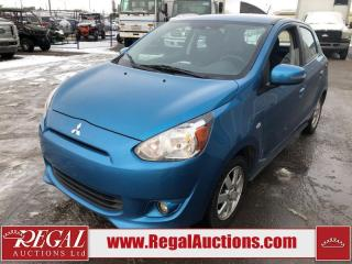 Used 2015 Mitsubishi Mirage SE 4D Hatchback 1.2L for sale in Calgary, AB